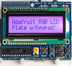 아다푸르트 라즈베리파이용 RGB 양성 16x2 LCD+키패드 키트 / Adafruit RGB Positive 16x2 LCD+Keypad Kit for Raspberry Pi [1109]